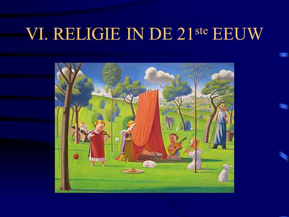 VI. RELIGIE IN DE 21 ste EEUW