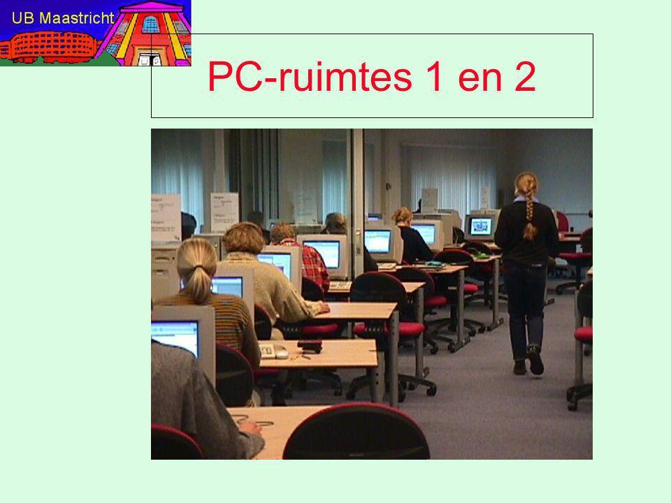 PC-ruimtes 1 en 2