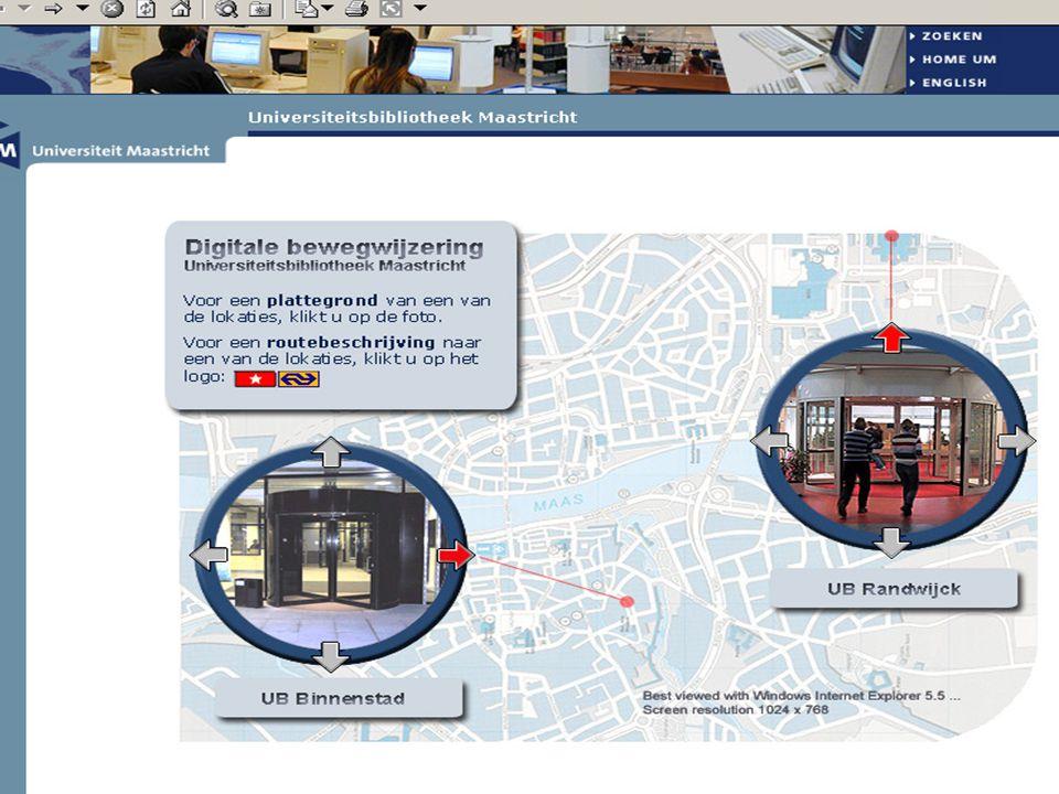 UB / Studielandschap Randwijck n UB collectie voor onderzoek (niveau 0 en 1) Studielandschap collectie voor onderwijs (niveau 2 en 3) n geneeskunde, gezondheidswetenschappen en psychologie