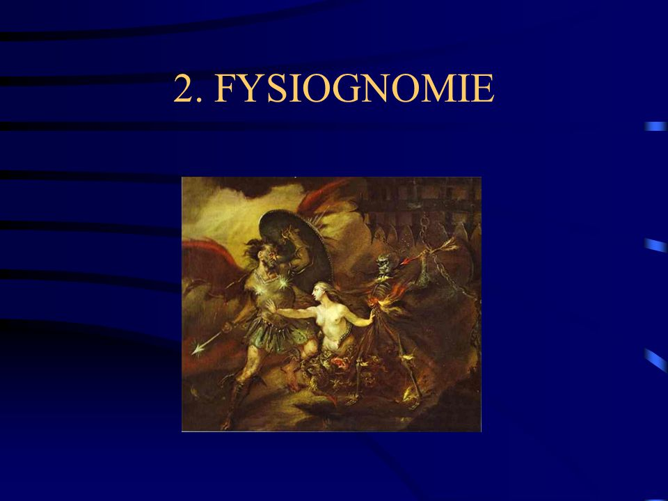 2. FYSIOGNOMIE