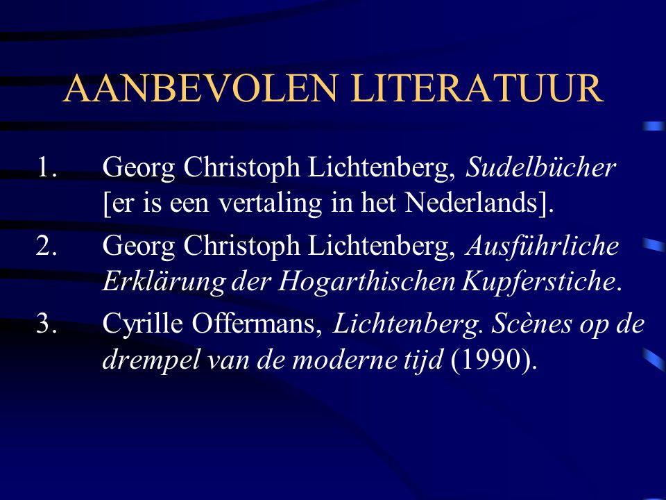 AANBEVOLEN LITERATUUR 1.