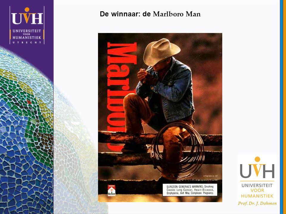 Prof. Dr. J. Dohmen De winnaar: de Marlboro Man