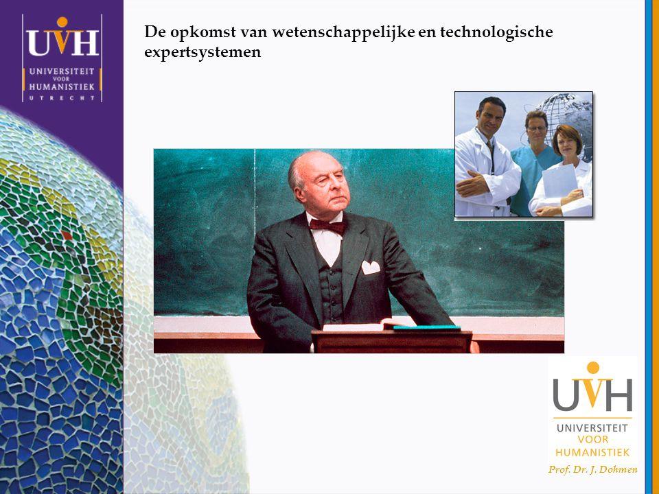 Prof. Dr. J. Dohmen De opkomst van wetenschappelijke en technologische expertsystemen