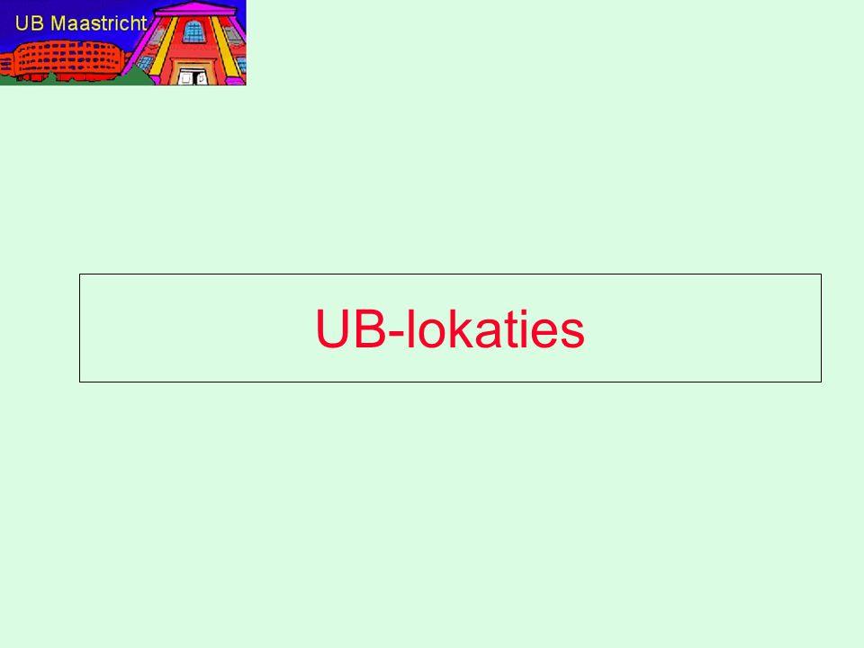 UB-lokaties