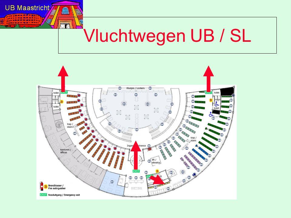 Vluchtwegen UB / SL