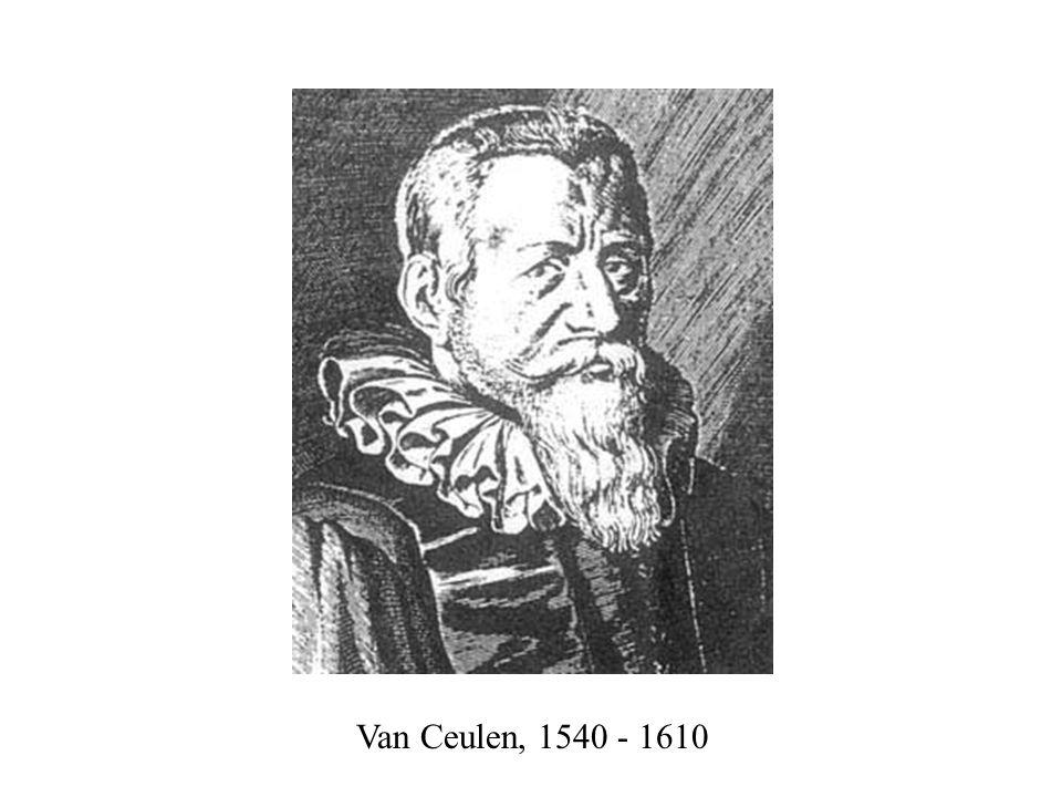 Van Ceulen, 1540 - 1610