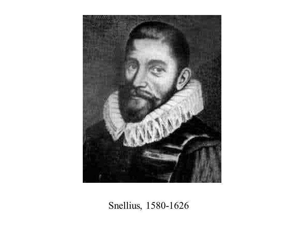 Snellius, 1580-1626