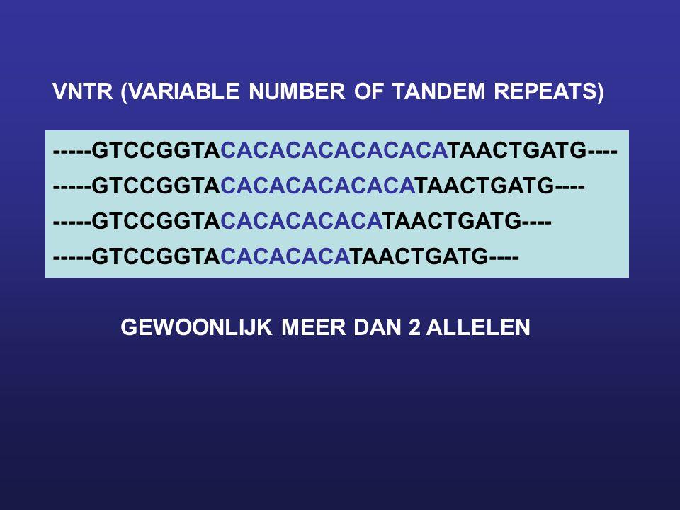 BIJ GENETISCHE VARIATIE WORDT ONDERSCHEID GEMAAKT TUSSEN: FUNCTIONEEL EN NIET-FUNCTIONEEL CA 90% VAN HET DNA HEEFT GEEN FUNCTIE -> 90% VAN DE VARIATIE IS NIET FUNCTIONEEL ~10% VAN DE VARIATIE KAN INVLOED HEBBEN OP GENEXPRESSIE EN IS DAN FUNCTIONEEL