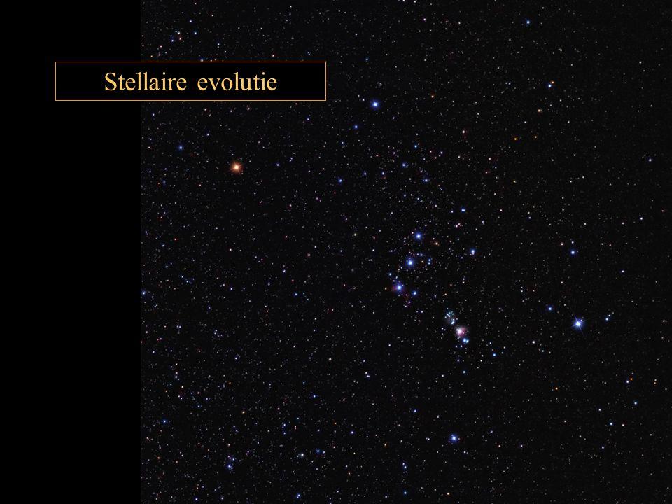 Stellaire evolutie