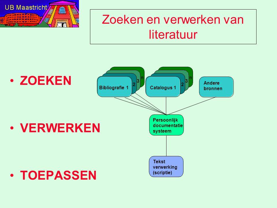 Toegang tot informatie van elders www.icts.unimaas.nl (3883564) –'toegang' tot virtuele voorzieningen: > studenten > projecten > campus > inbelvoorziening www.ub.unimaas.nl (3881804) –Catalogus, E-journals, Informatiebestanden, Dienstverlening www.ub.unimaas.nl/ub-fdgw/index.htm –Specifieke dienstverlening, e-readers, selectie van informatiebestanden