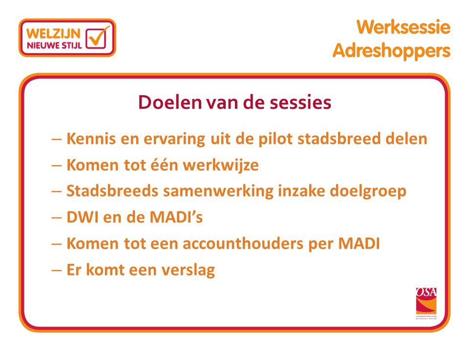 Programma voor vandaag 9.00 uur Welkom namens opdrachtgever 9.05 uur Voorstelrondje 9.15 uur Algemene inleiding over de pilot 9.50 uur Cases 10.20 uurKoffie 10.45 uurCases 11.15 uurPresentatie WZS over huisvesting in Amsterdam 12.15 uurAfsluiting (vragen aan DWI inventariseren) 12.30 uur Lunch