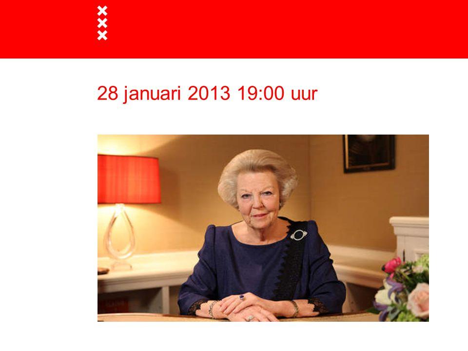 28 januari 2013 19:00 uur
