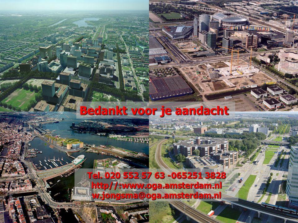 1-8-2014 Geo-seminar Amsterdam november 2009 Geoportaal 14 Bedankt voor je aandacht Tel. 020 552 57 63 -065251 3828 http//:www.oga.amsterdam.nlw.jongs