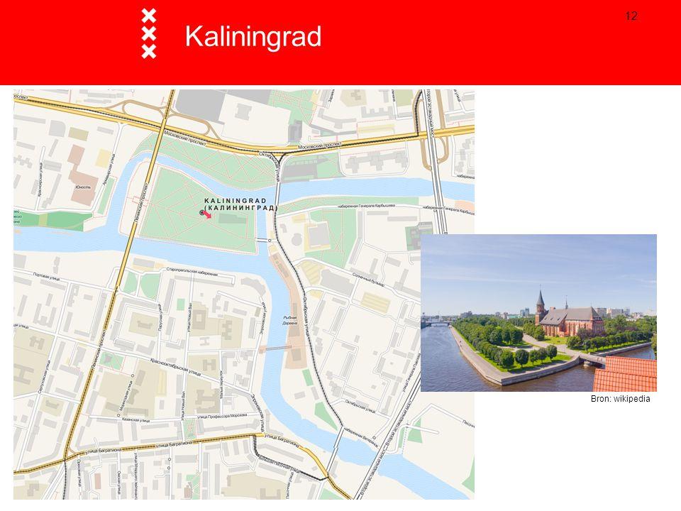 12 Kaliningrad Bron: wikipedia