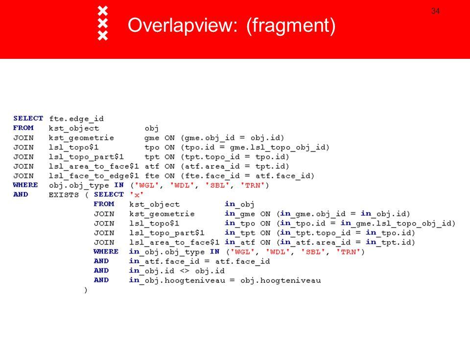 34 Overlapview: (fragment)