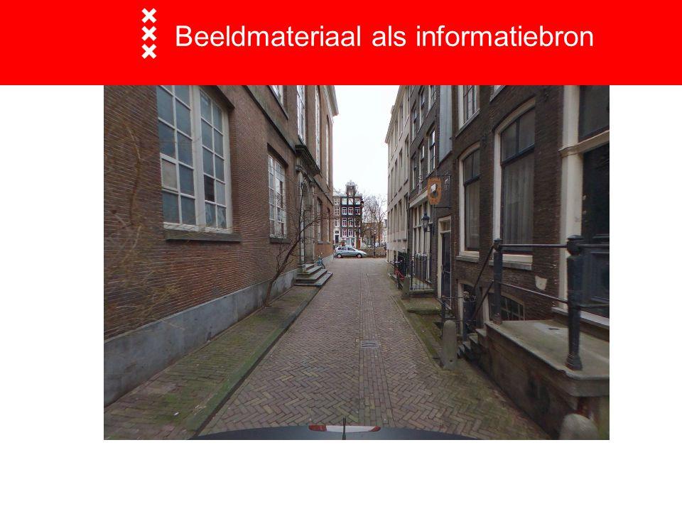 Beeldmateriaal als informatiebron  Traditionele luchtfoto's loodrecht naar beneden gefotografeerd Thermografische beelden False color beelden 3D foto's uit stereoparen  Panoramafoto's Streetview (googlemaps) Cyclorama's (cyclomedia)