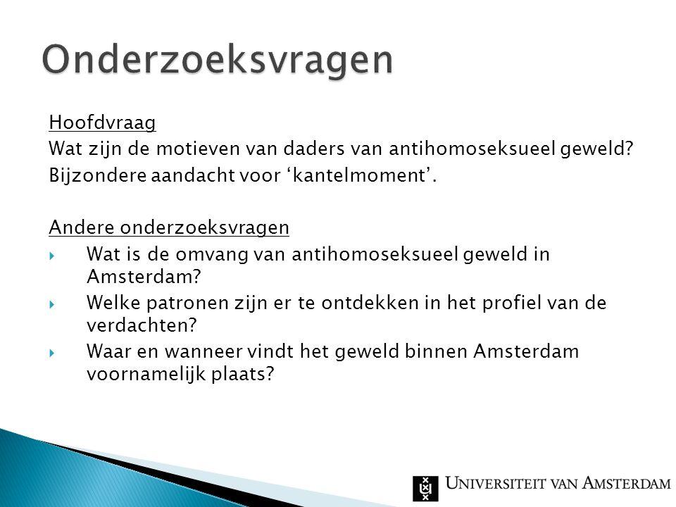  201 incidenten in Amsterdam in 2007
