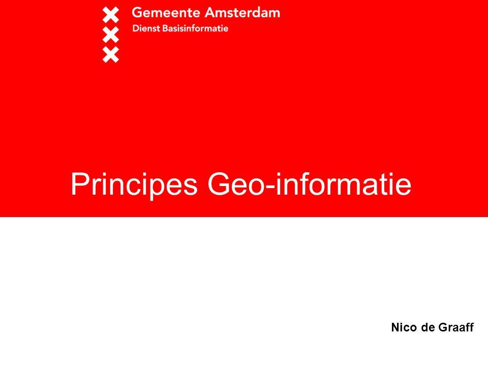 Principes Geo-informatie Nico de Graaff