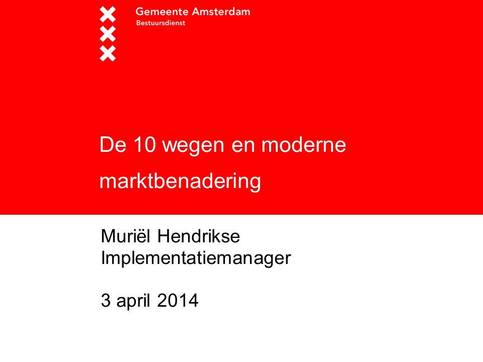 2 Onderwerpen  Opdracht  Status 10 wegen  Aanleiding  Doelstellingen  Moderne marktbenadering 2
