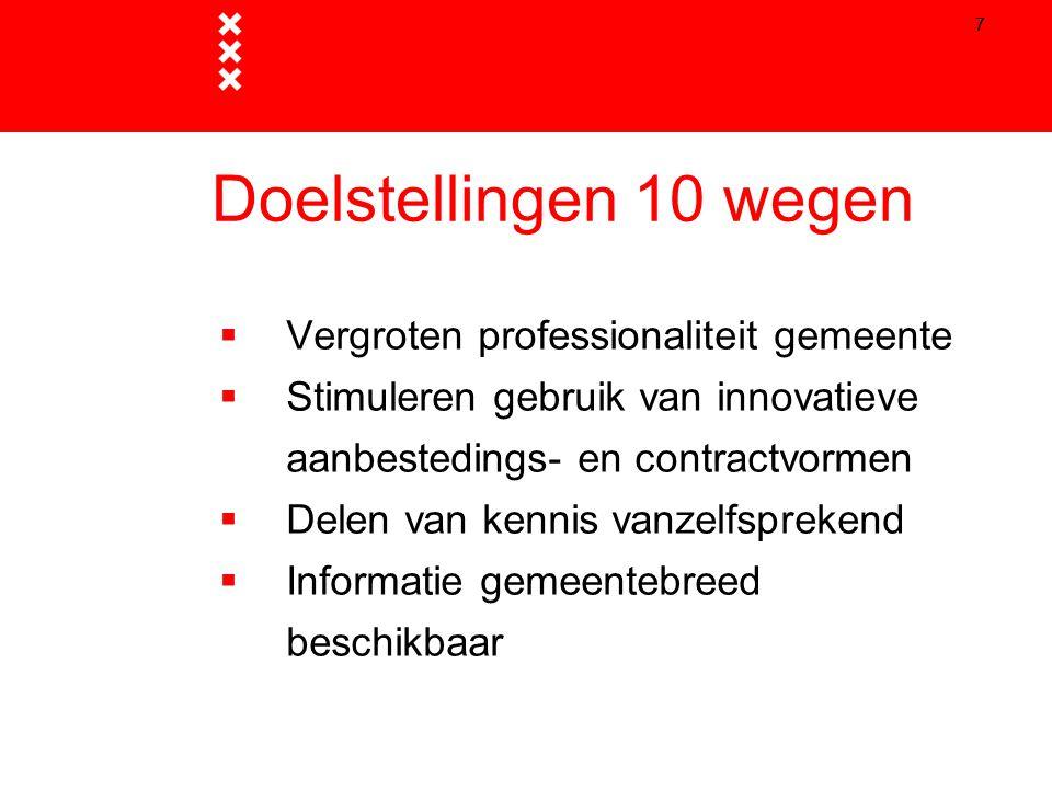 8 Raakvlakken  Moderne (professionele) marktbenadering  Evaluatie 8