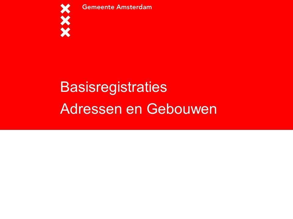 Basisregistraties Adressen en Gebouwen