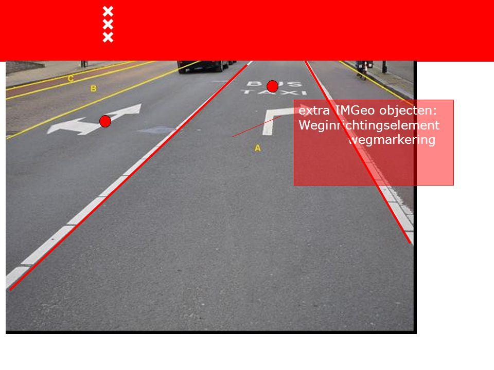 extra IMGeo objecten: Weginrichtingselement wegmarkering