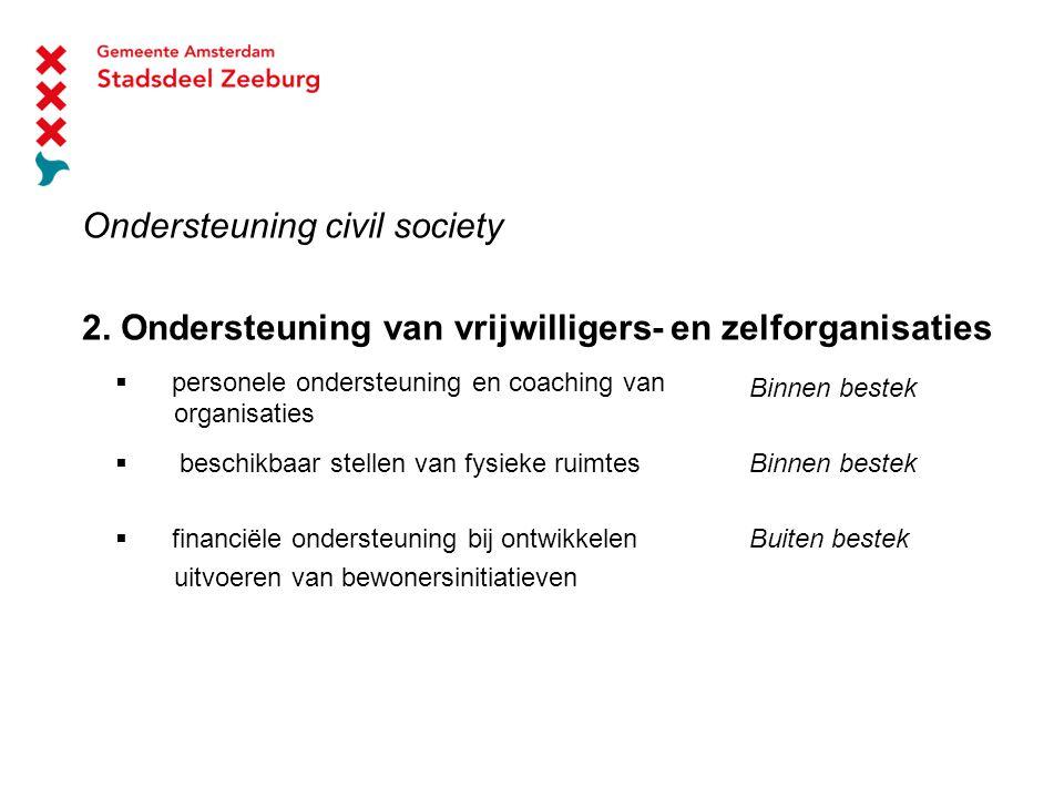 Ondersteuning civil society 2.