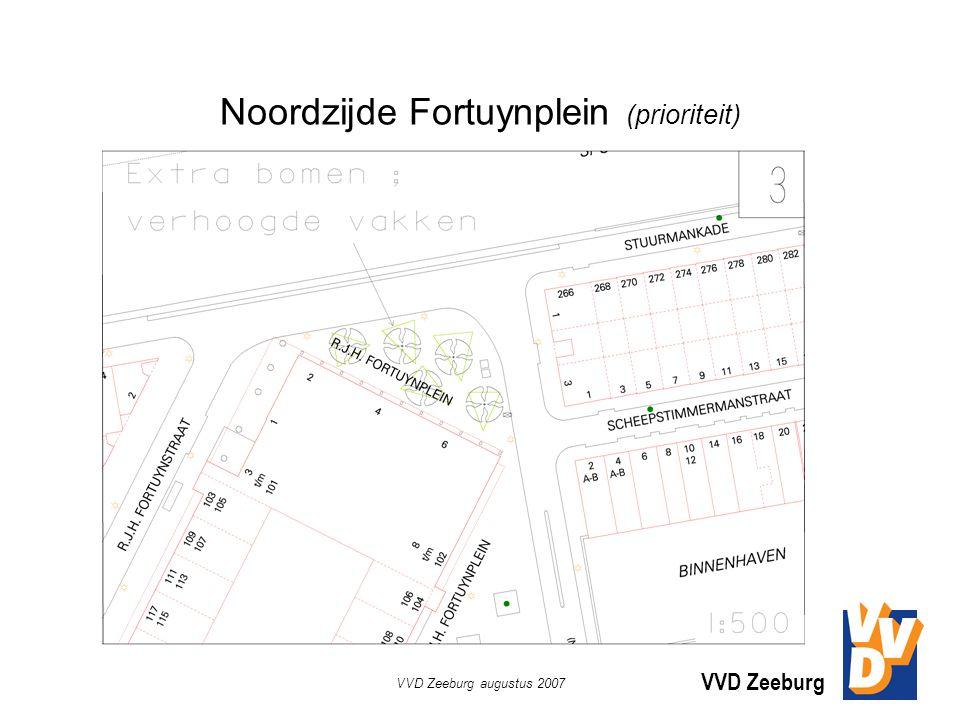 VVD Zeeburg VVD Zeeburg augustus 2007 Noordzijde Fortuynplein (prioriteit)