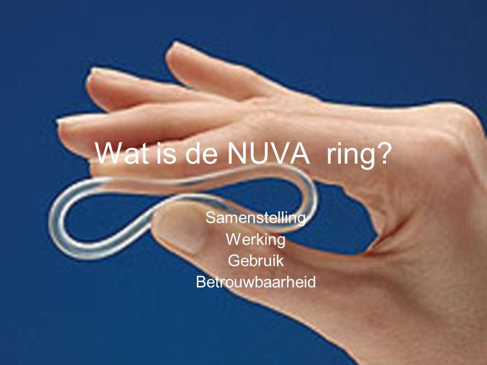 Wat is de NUVA ring? Samenstelling Werking Gebruik Betrouwbaarheid