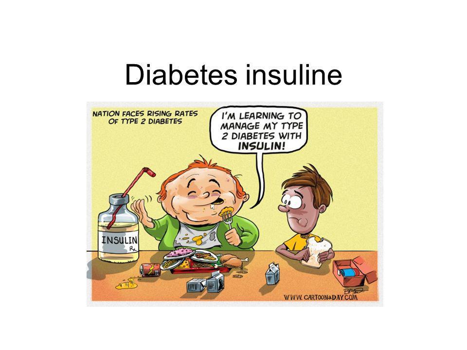 Diabetes insuline