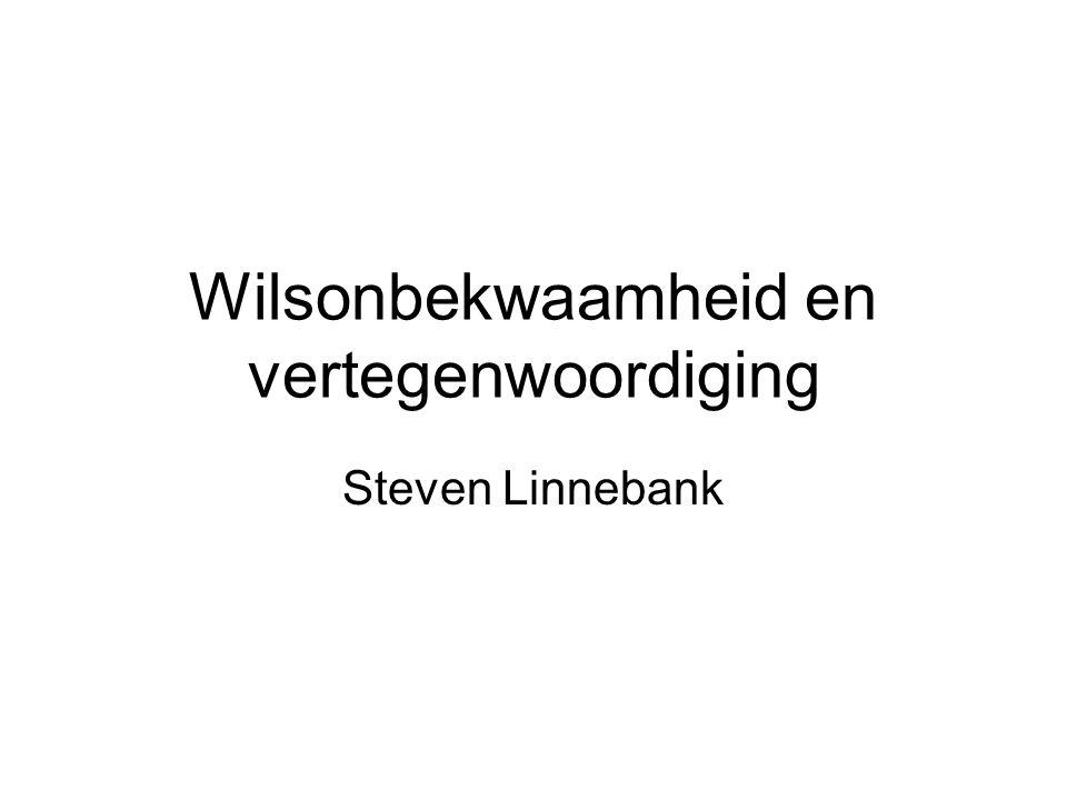 Wilsonbekwaamheid en vertegenwoordiging Steven Linnebank