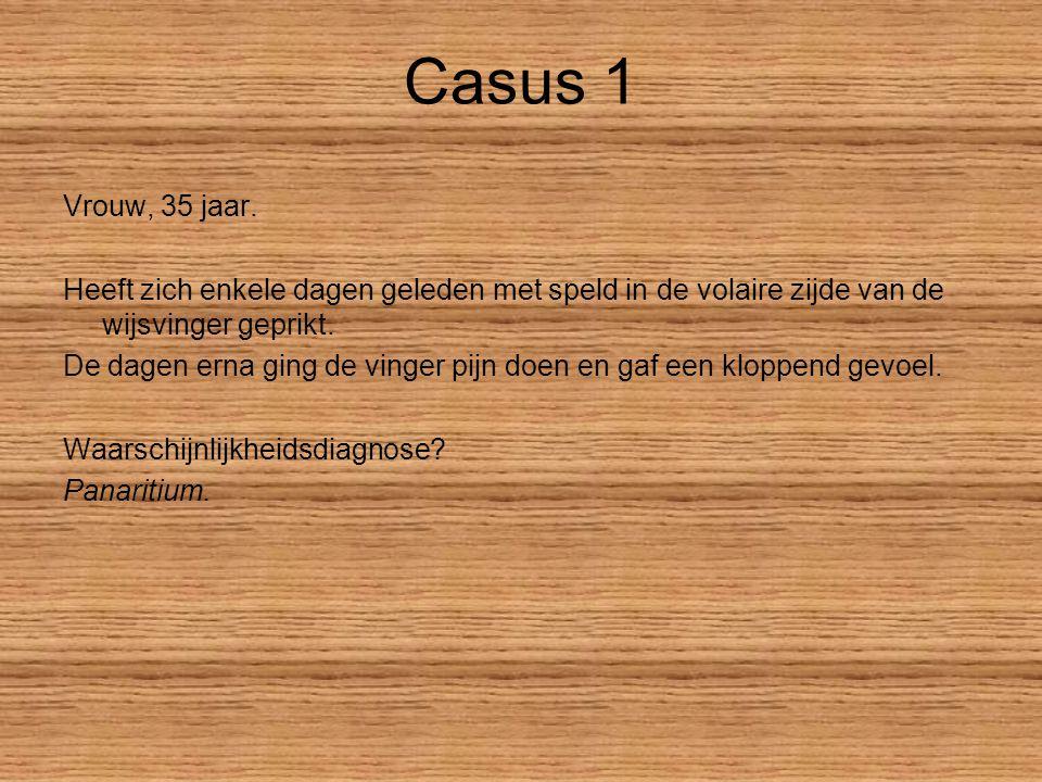 Casus 1 Waaruit bestaat het lichamelijk onderzoek.