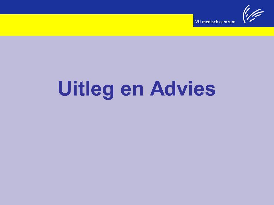 Uitleg en Advies