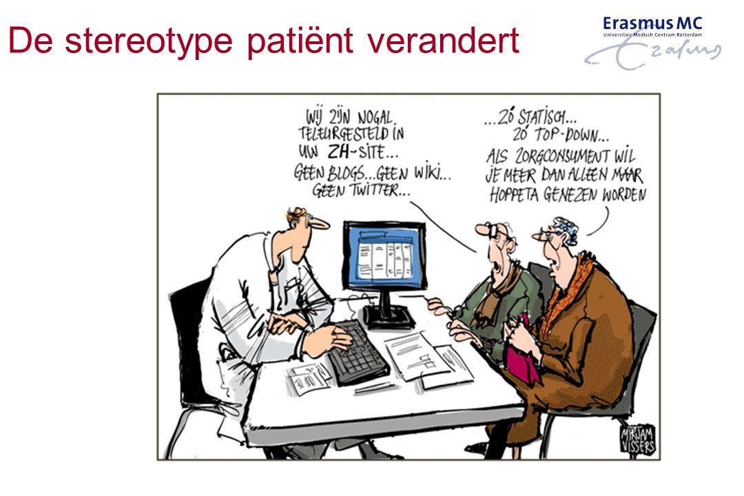 De stereotype patiënt verandert