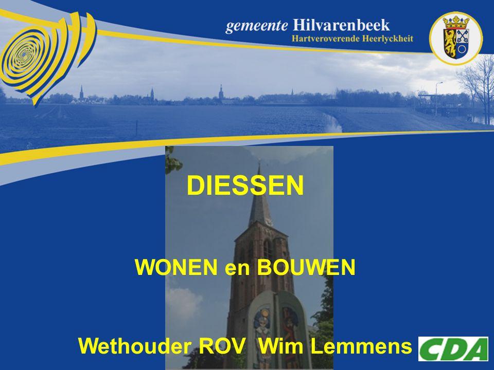 DIESSEN WONEN en BOUWEN Wethouder ROV Wim Lemmens