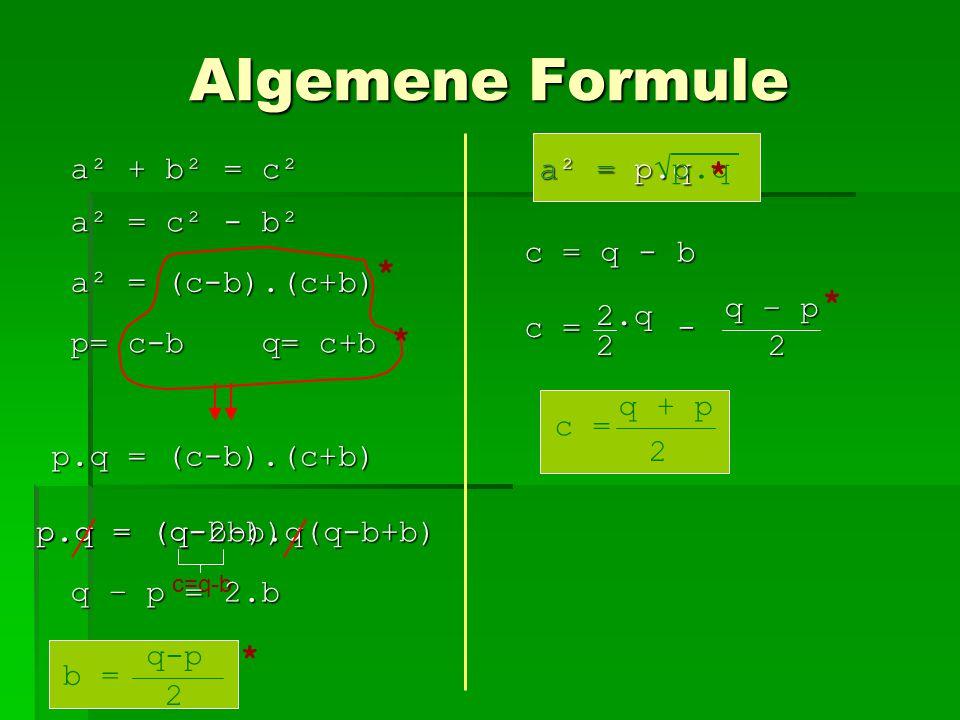 Eerste pogingen Een tabel met de verschillen tussen verschillende kwadraten.