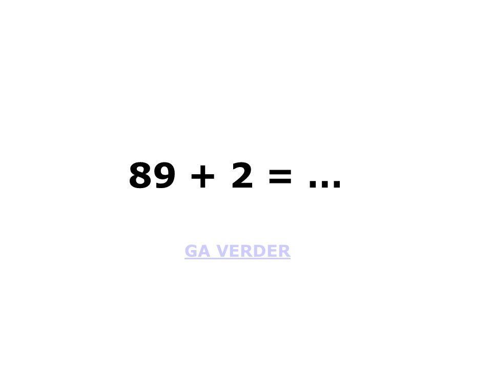 GA VERDER 12 + 53 = …