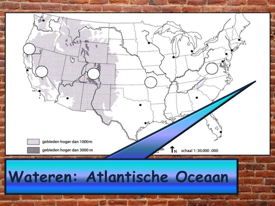 Wateren: Atlantische Oceaan