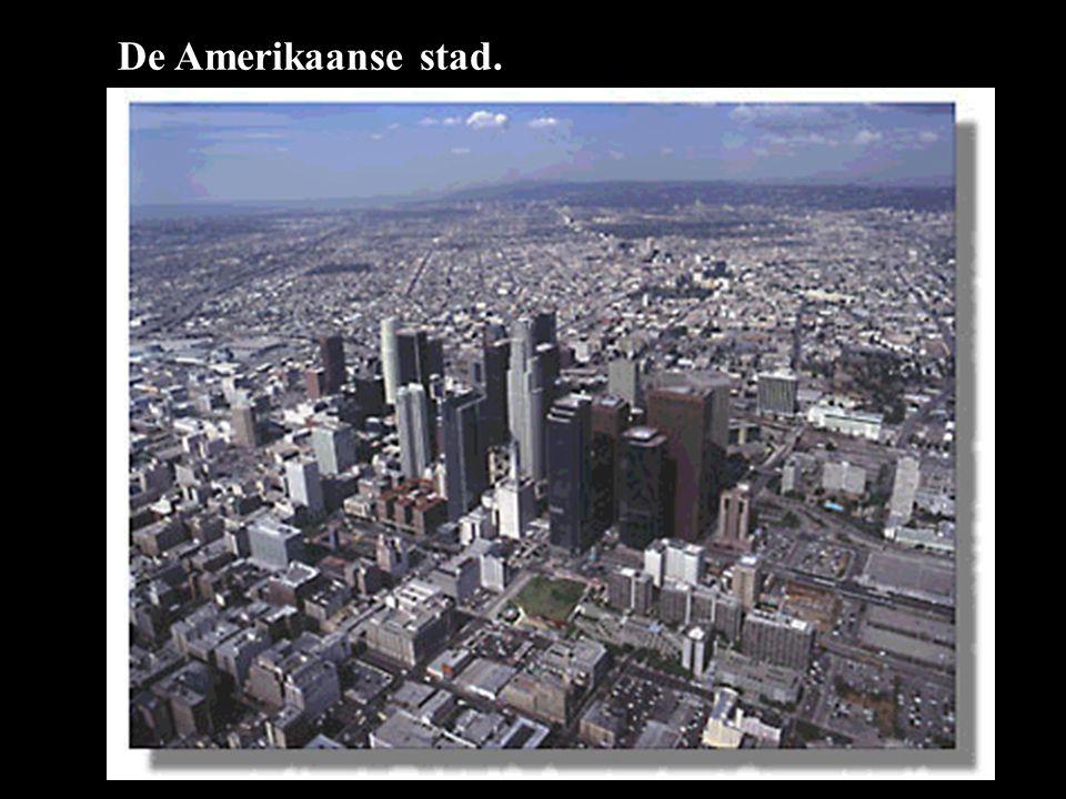 De Amerikaanse stad.