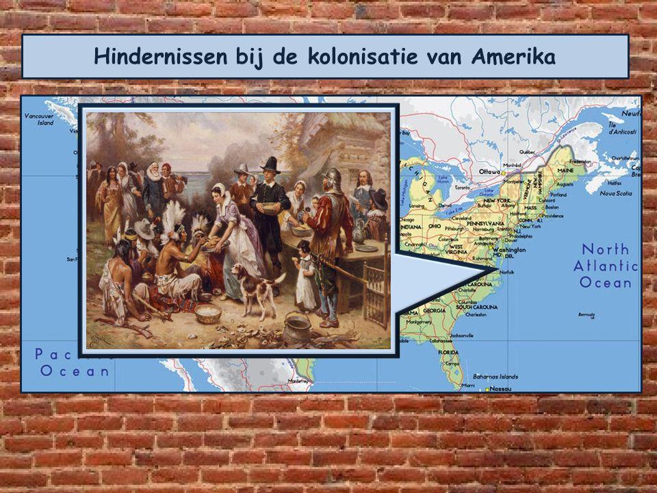 De eerste kolonisten kwamen aan in Jamestown. Een plaats ten zuiden van de hoofdstad Washington. Vanaf de oostkust trok men verder het continent in. G