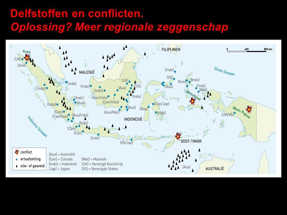 Delfstoffen en conflicten. Oplossing? Meer regionale zeggenschap