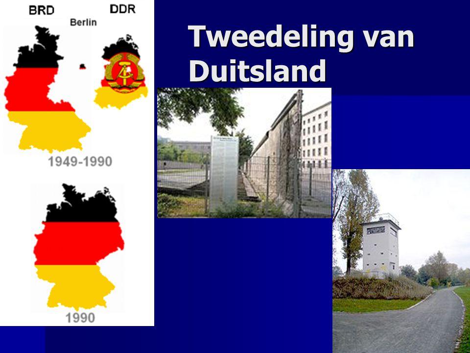 Tweedeling van Duitsland