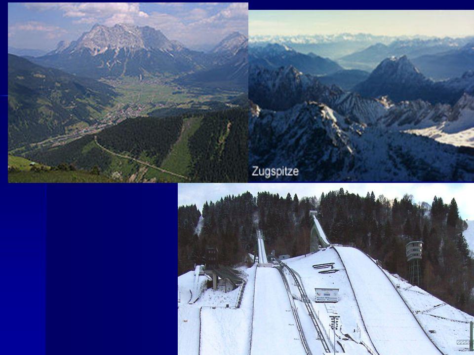 Zugspitze Schansspringen