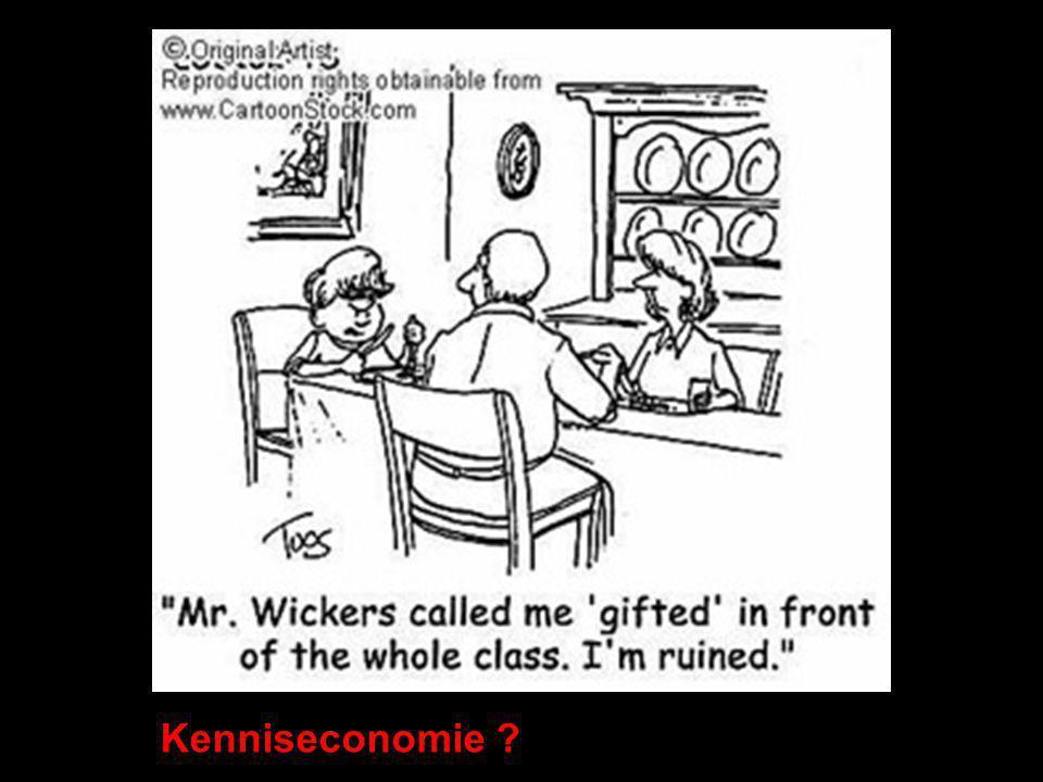 Kenniseconomie ?