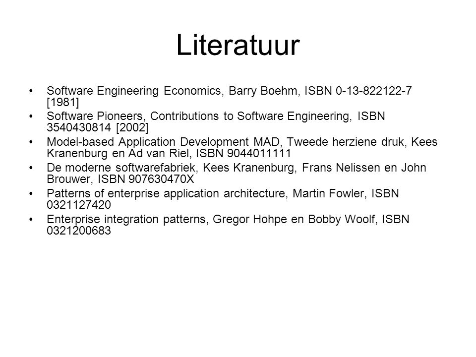 Links Book abstract Software Engineering: The Legacy of Barry W.