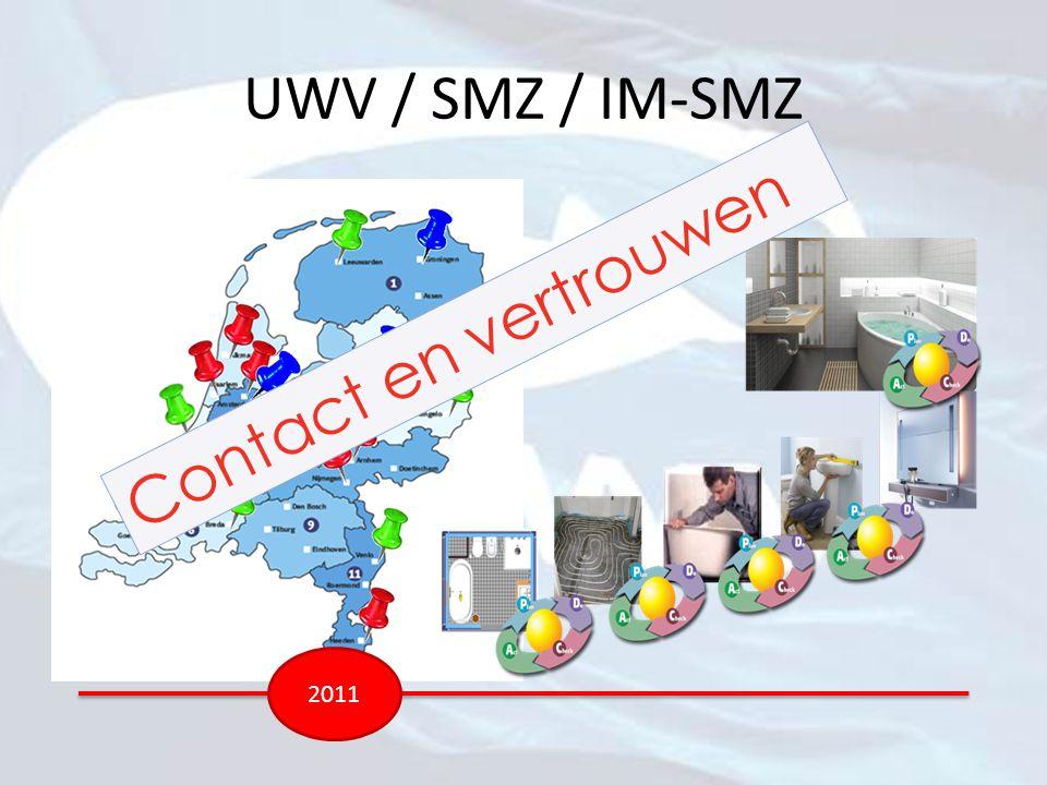 UWV / SMZ / IM-SMZ 2011 Contact en vertrouwen