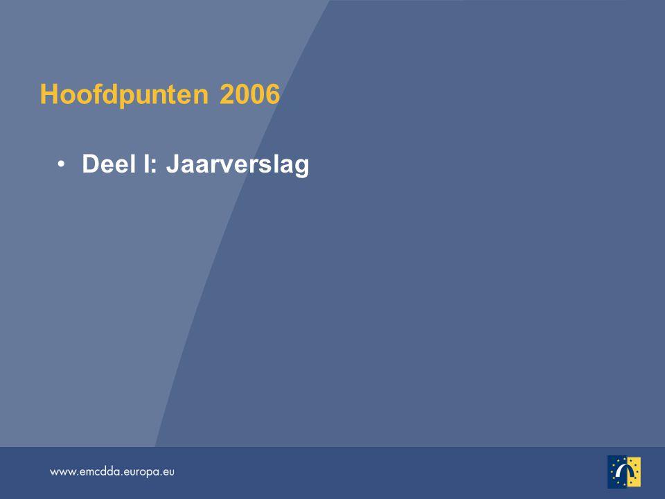 Hoofdpunten 2006 Deel I: Jaarverslag