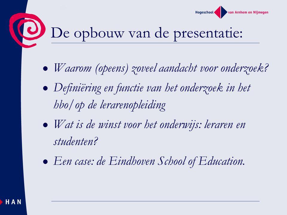 Economische wetmatigheden Samenleving stelt hogere en ingewikkelder eisen Hogere eisen aan leraren.