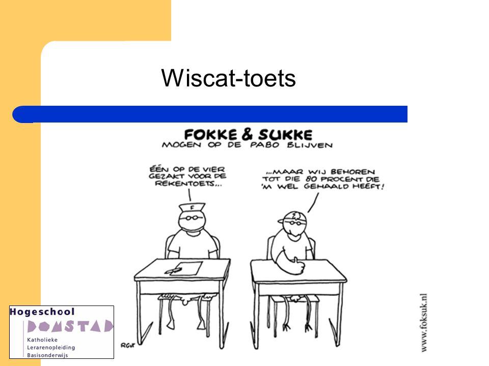 Wiscat-toets