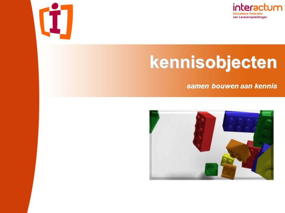 kennisobjecten kennisobjecten samen bouwen aan kennis
